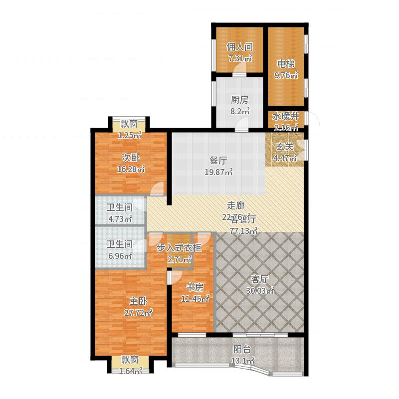 北京_棕榈泉国际公寓_2017-05-27-1027户型图