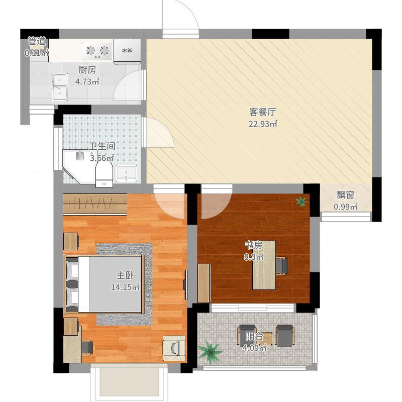 无锡_华夏世纪锦园_2017-05-27-1109户型图