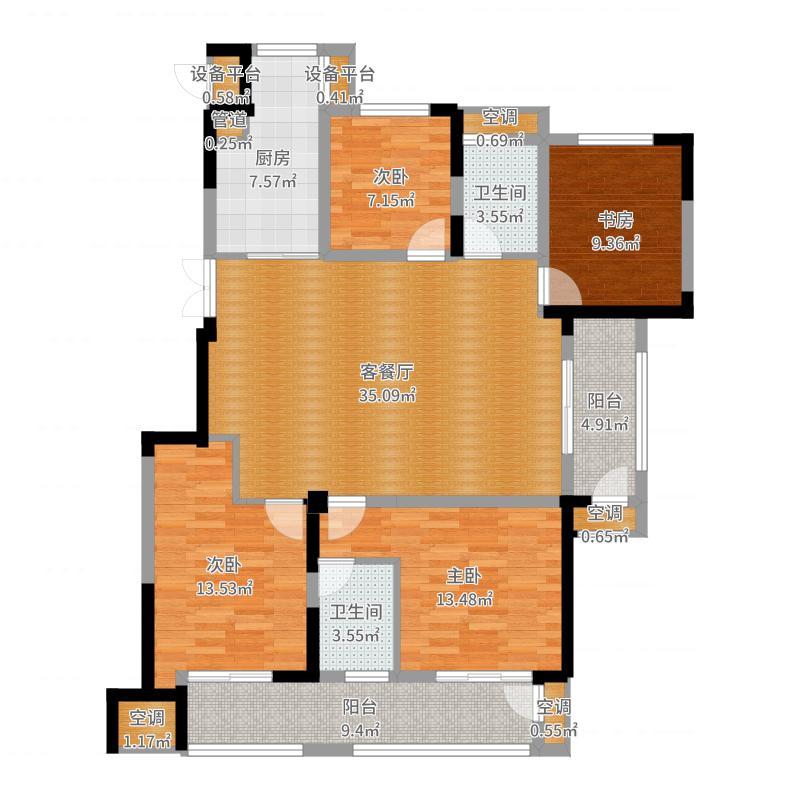 南京_高科荣境_2017-05-27-1116户型图