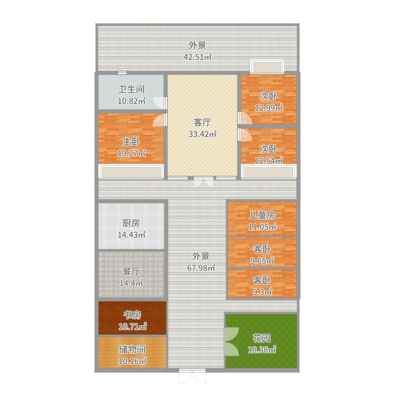 全国_新北京四合院_2017-05-27-1628户型图