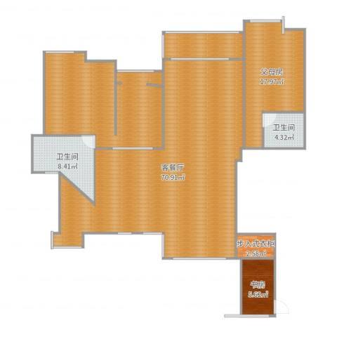 世茂世界湾1室2厅2卫0厨181.00㎡户型图