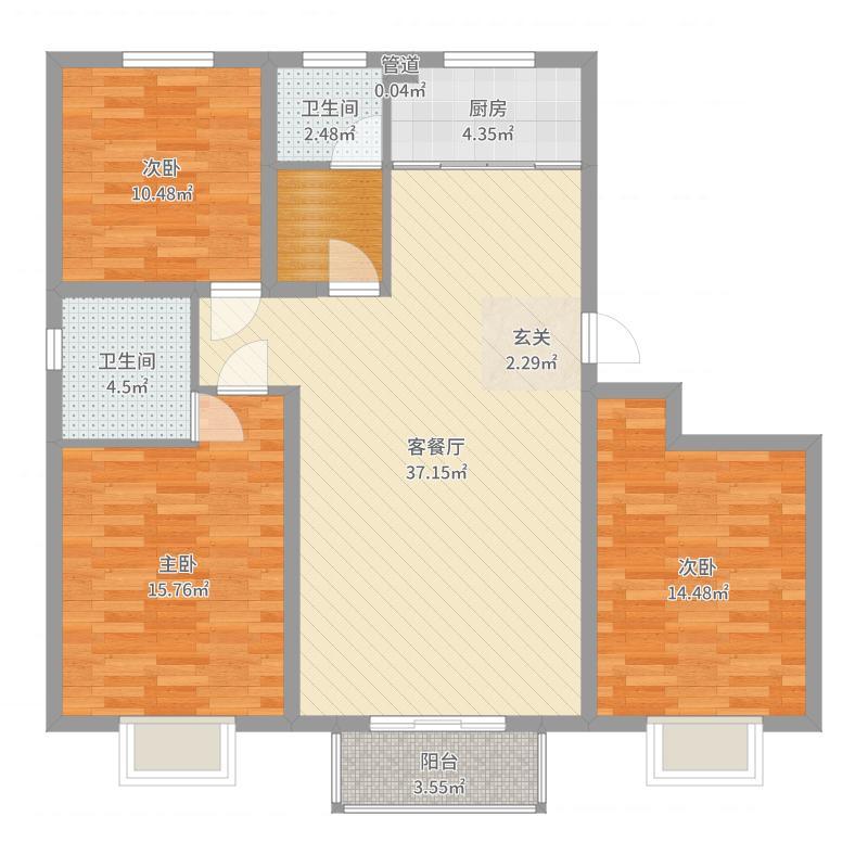 唐山_和逸居_2017-05-27-1407户型图