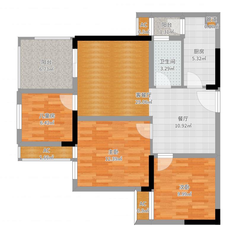 重庆_金科开州财富中心_2017-05-27-1417户型图