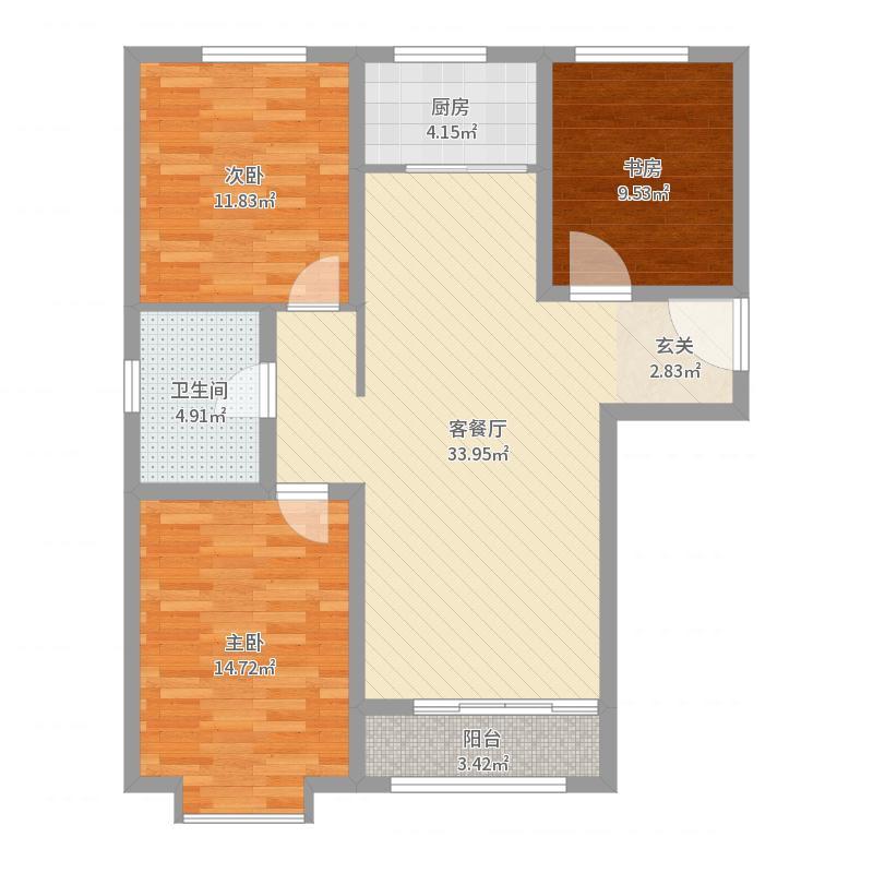 张家口_世贸广场_2017-05-27-1131户型图