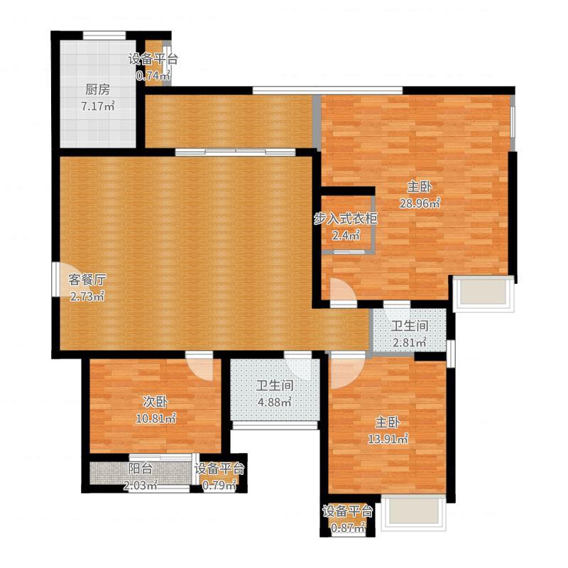 中海独墅9栋140.00㎡中海独墅9栋户型图228、229、230、231栋户型图