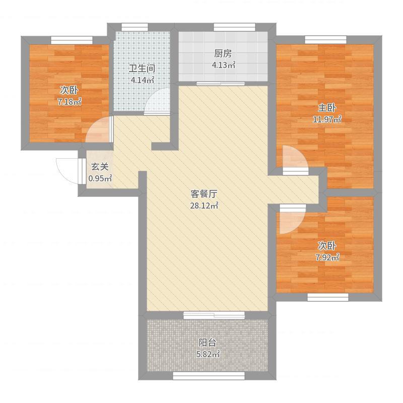 石家庄_高远时光城_2017-05-27-1851户型图