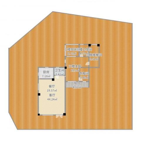 徽府1厅1卫1厨742.00㎡户型图