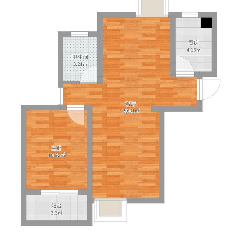 和美家园户型图