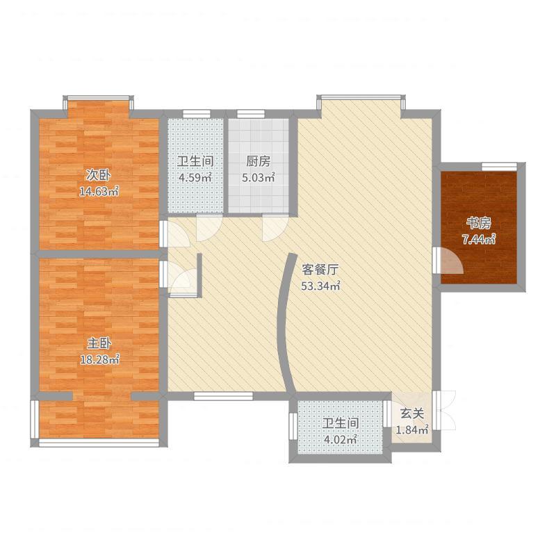 三和家园户型图