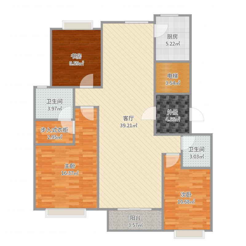 运河-颐和庄园三期-设计方案-副本户型图