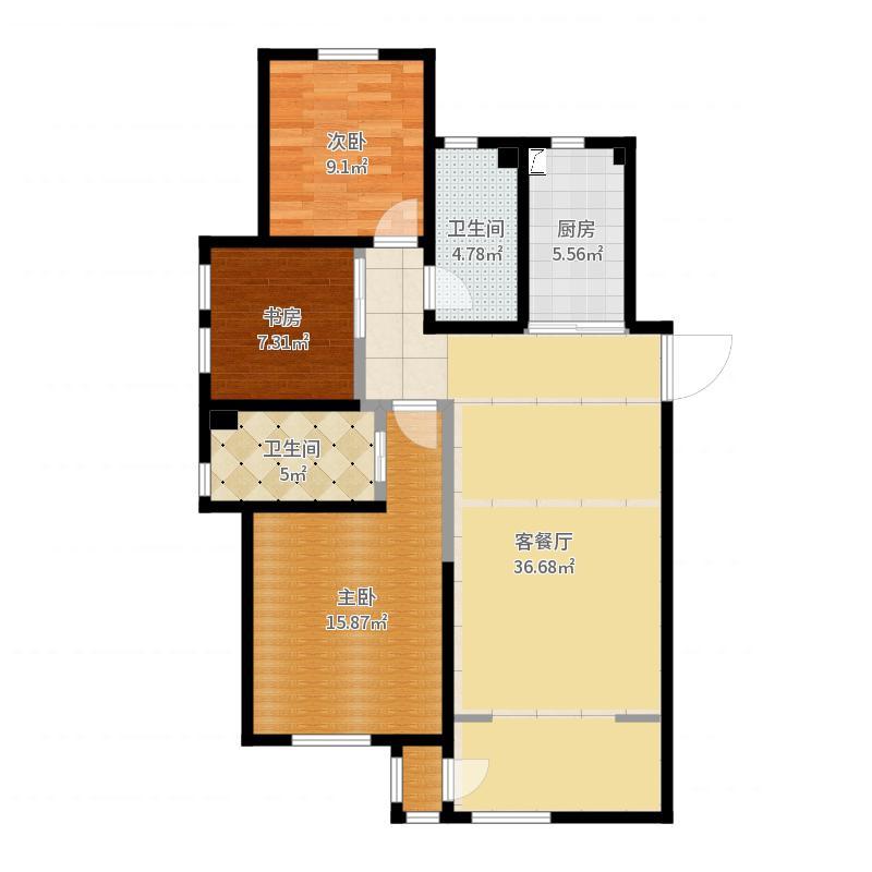 沈阳_孔雀城_2017-05-28-2125户型图
