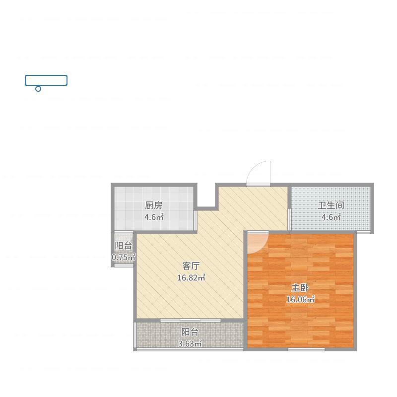 新高苑三期108号1002室户型图