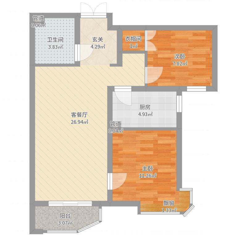 廊坊_天洋城4代二期_2017-05-29-1653户型图