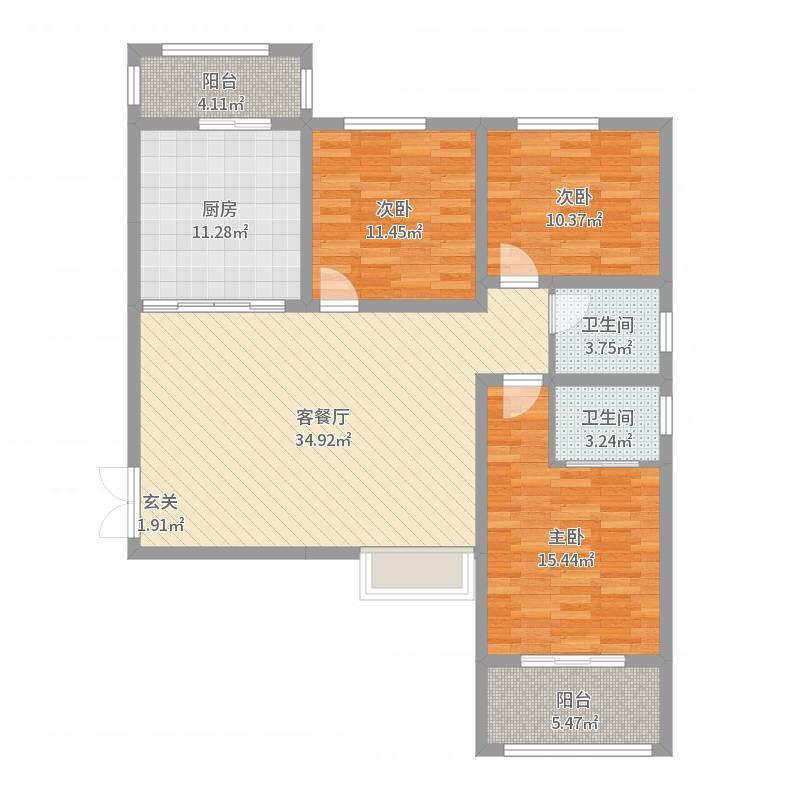 临汾_九星佳苑_2017-05-29-1710户型图