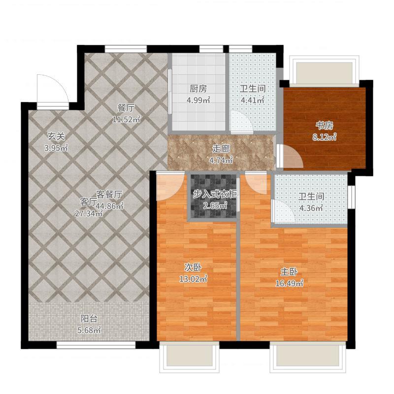 华润置地广场-副本户型图