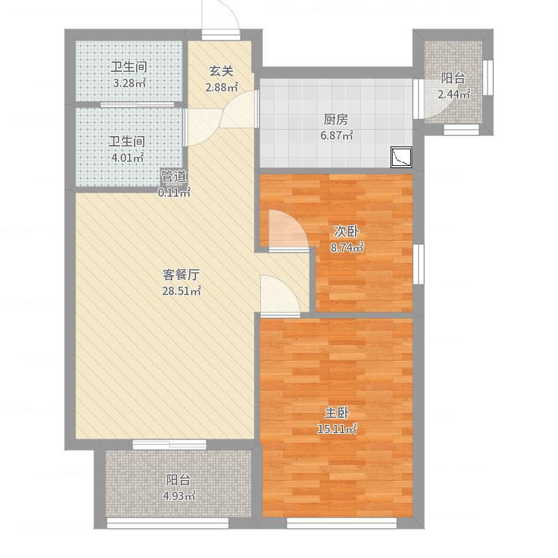 北京_北人家园_2017-05-30-1511户型图