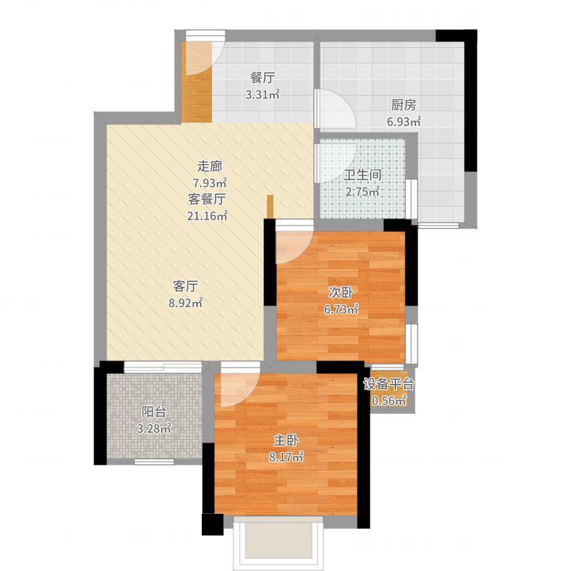 重庆_泽胜温泉城_2017-05-30-1608户型图
