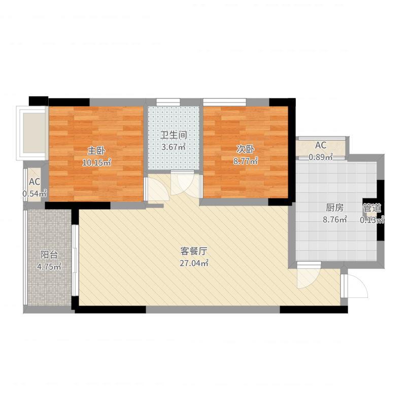 重庆_富力城繁华里_2017-05-30-2013户型图