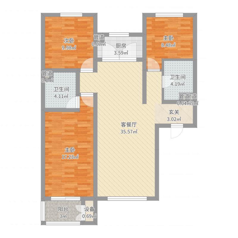 唐山_中国水电首郡_2017-05-29-1711户型图