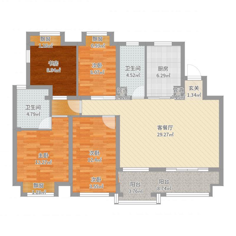 无锡_中海·珑玺_2017-05-30-0954户型图