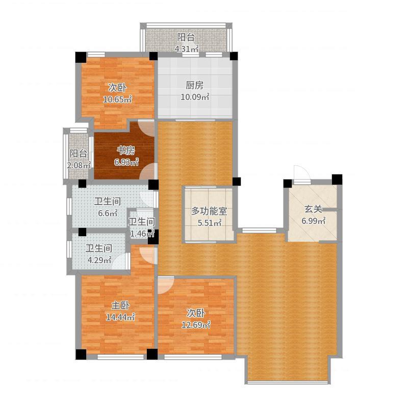 苏州_苏州御玲珑_2017-05-30-1017户型图