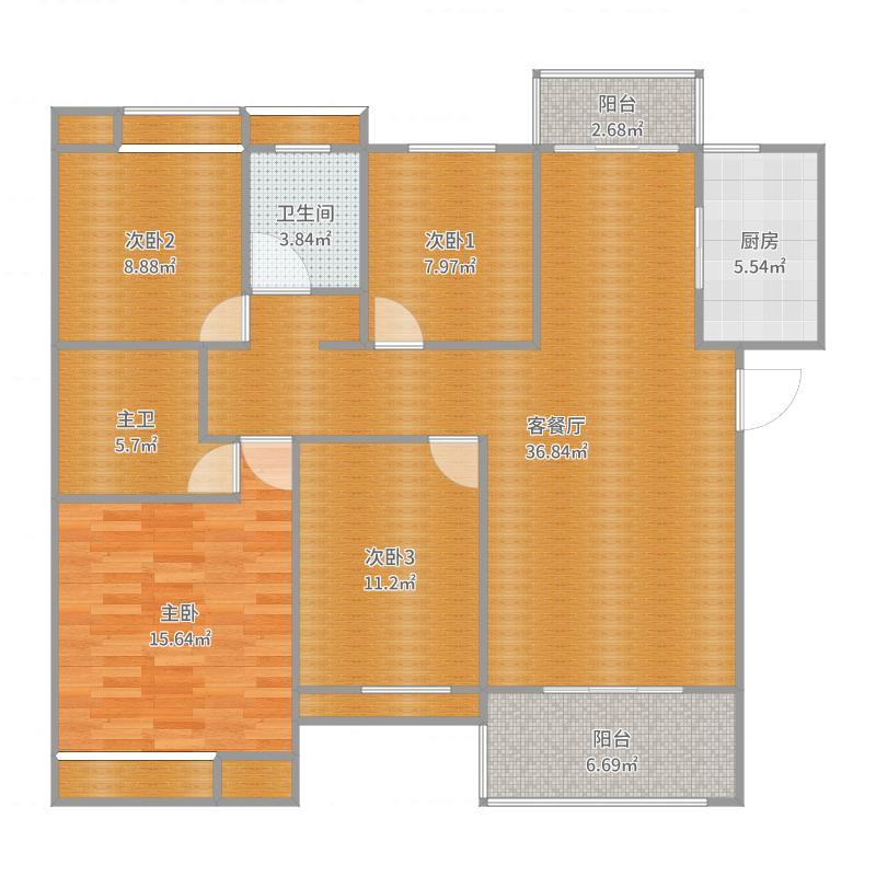 武汉A1-139-四室两厅两卫
