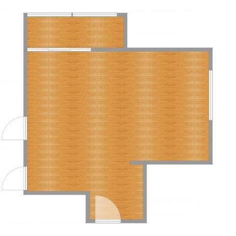 三塘沁园39.00㎡户型图