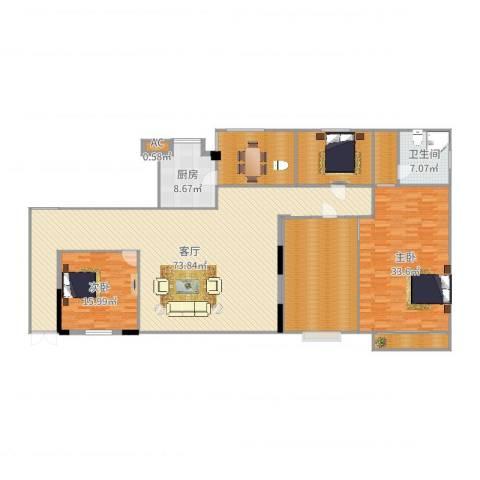 黄州宇济一号2室1厅1卫1厨238.00㎡户型图
