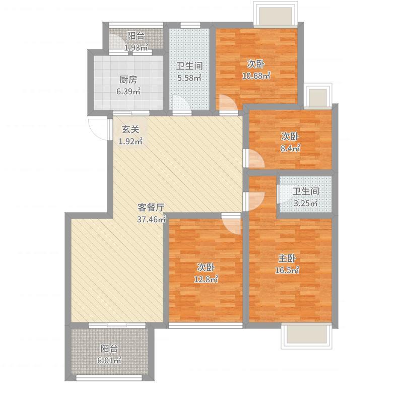 无锡_huaren_2017-06-22-1603户型图