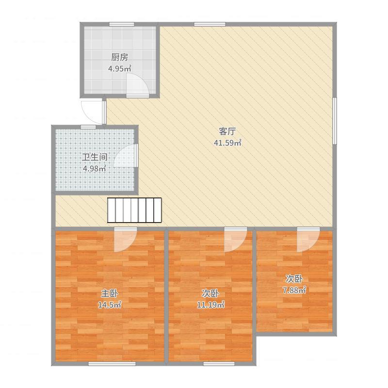 紫竹林28号户型图