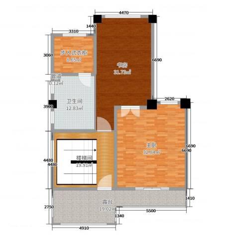 一米阳光・快乐家园2室0厅1卫0厨313.00㎡户型图