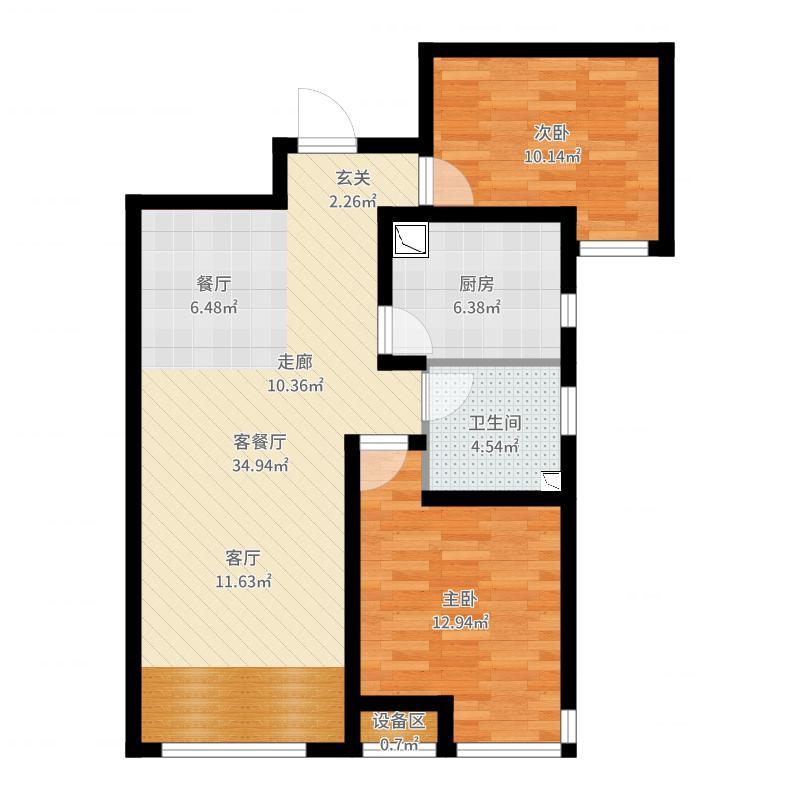 天津_力高阳光海岸_2017-06-23-2052户型图