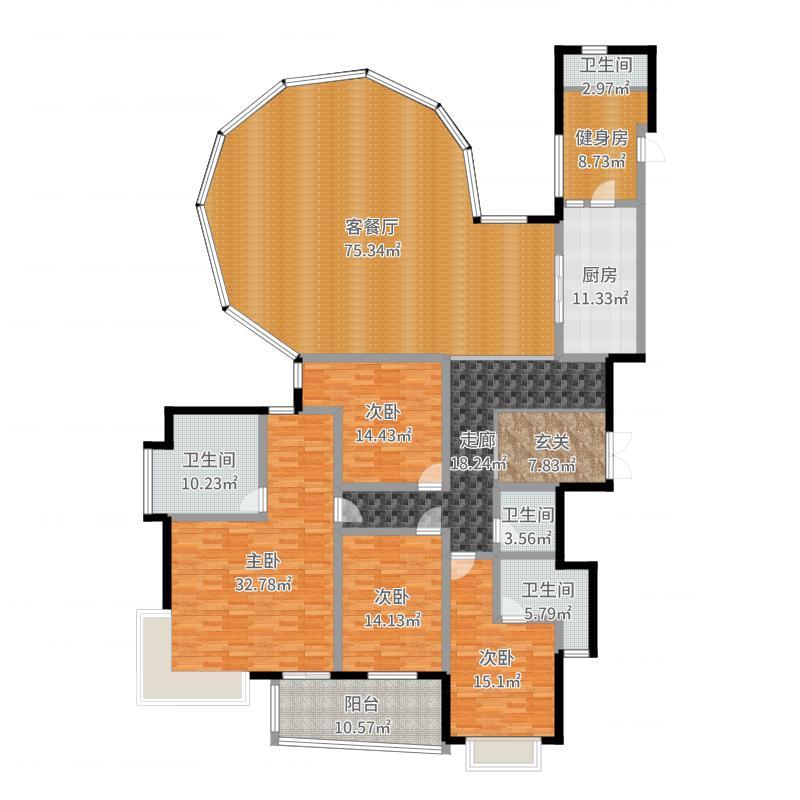 盛大金磐公寓户型图