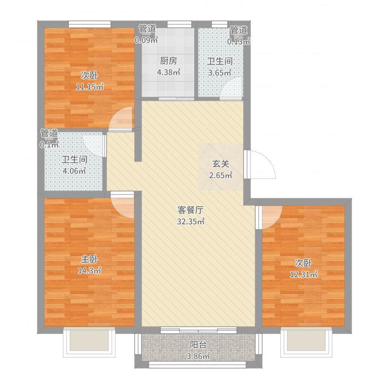 张家口_世贸广场_2017-06-22-1643户型图