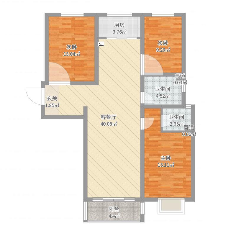 石家庄_百合田园_2017-06-23-1131户型图