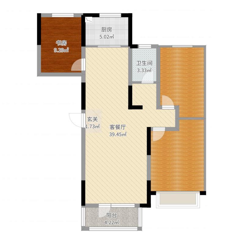 盘锦_美的城_2017-06-23-1609户型图
