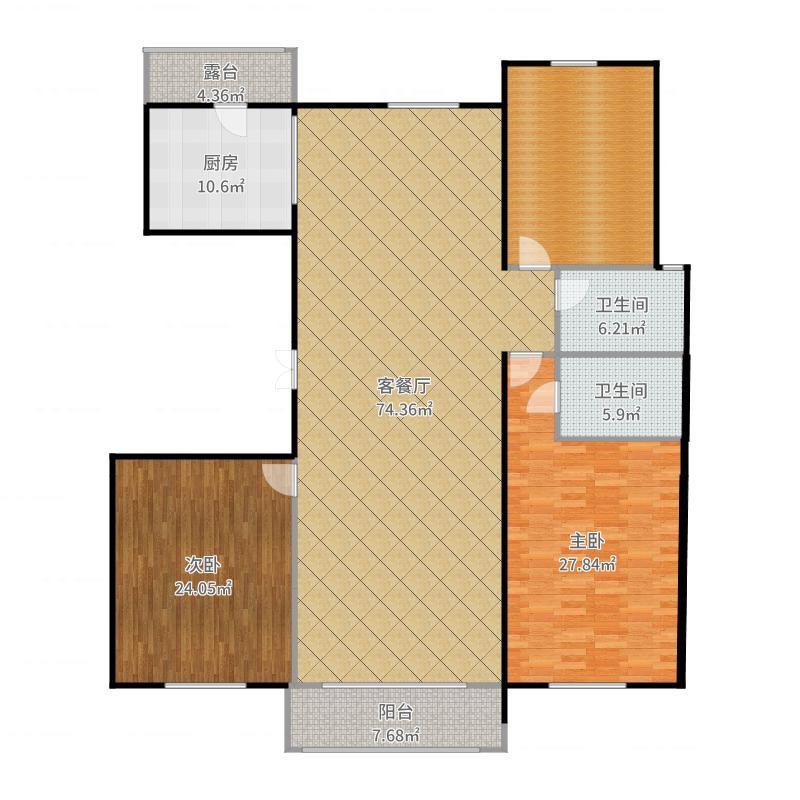 廊坊市新世界家园户型图