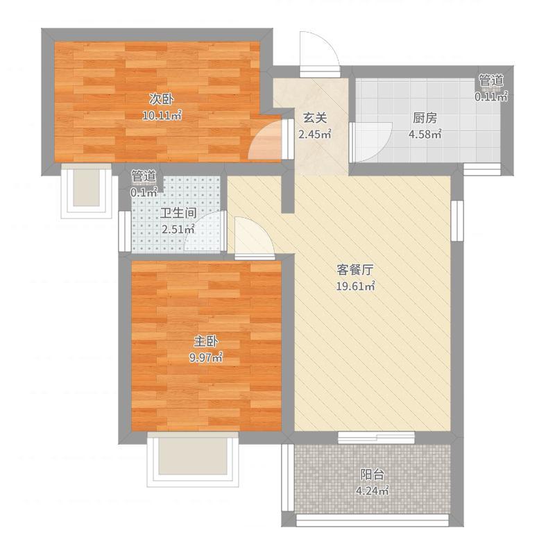 安联新青年广场75户型图