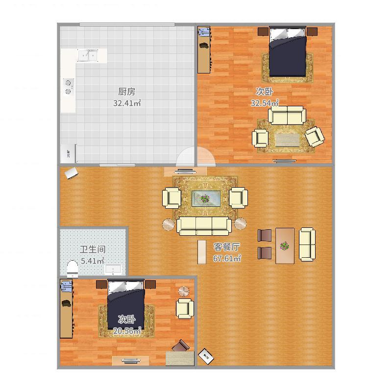 卓昱北苑户型图