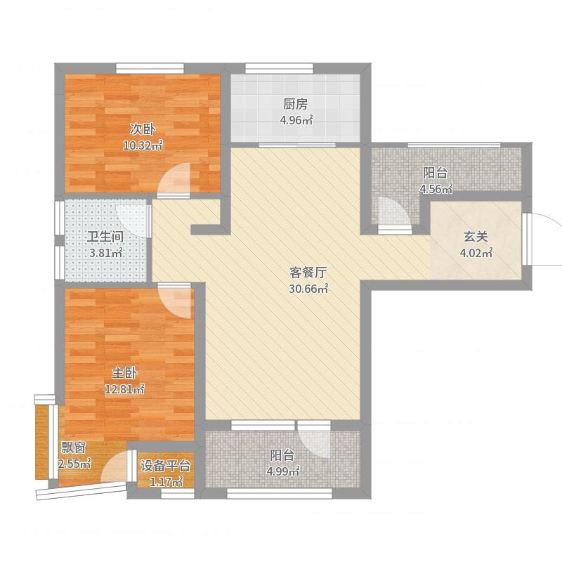 金普广场户型图