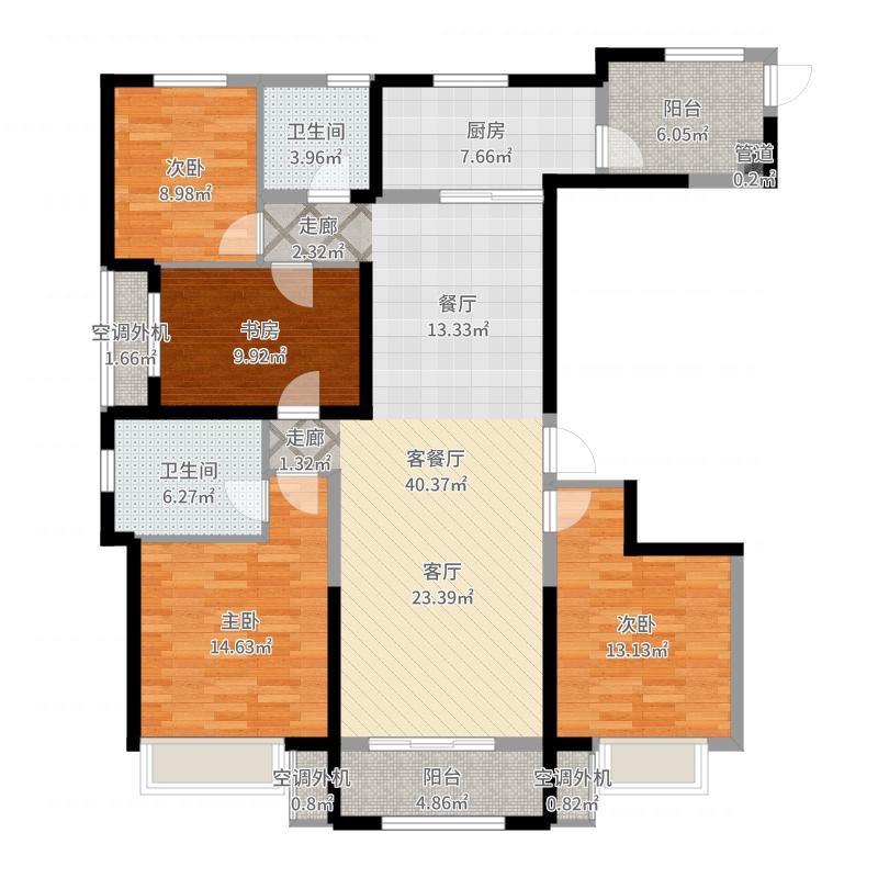 石家庄_保利花园_2017-06-24-2011户型图
