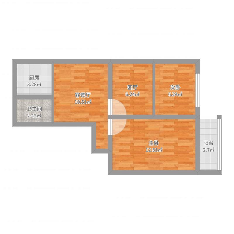 501室改造户型图