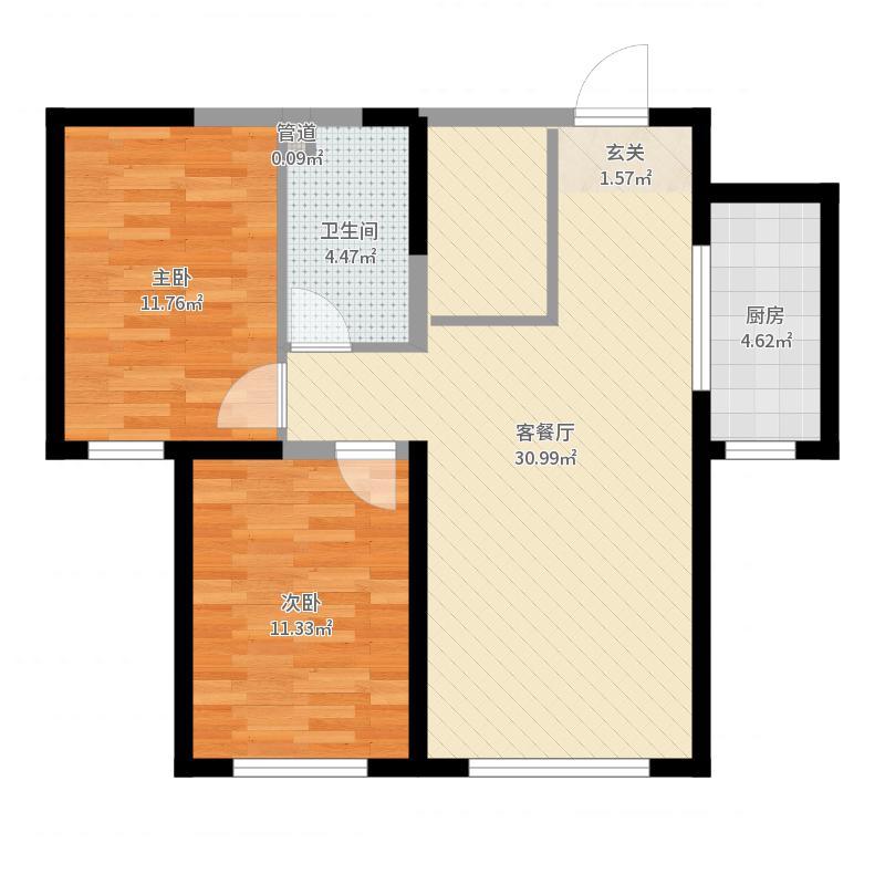 青福新城户型图