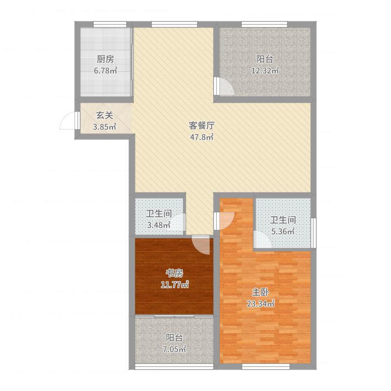 紫金公馆户型图