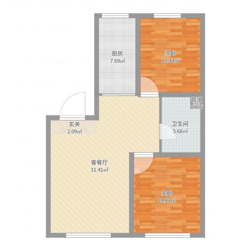 哈尔滨_置信・澜悦东方_2017-06-25-1511户型图