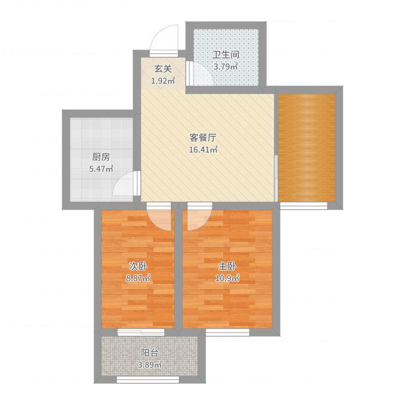 水墨福居户型图