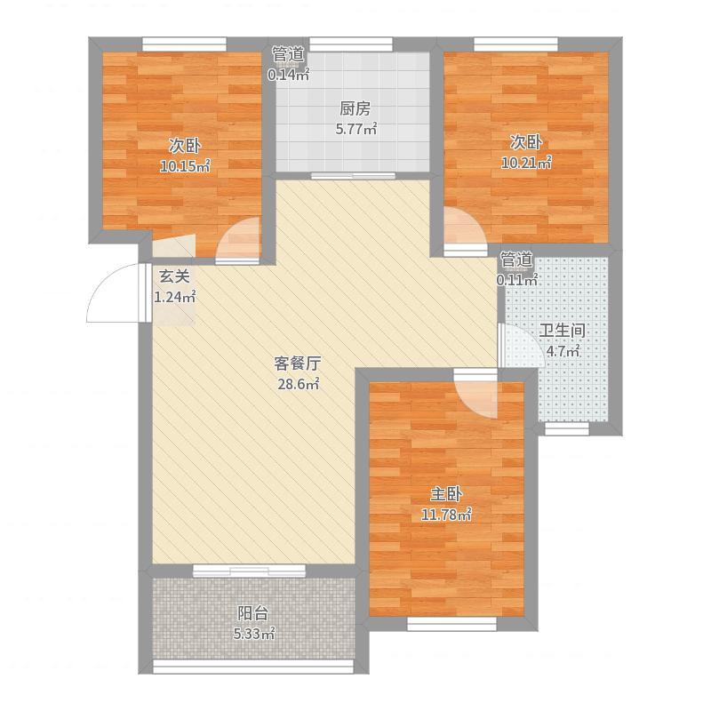 沧州_金都雅居_2017-06-26-1455户型图