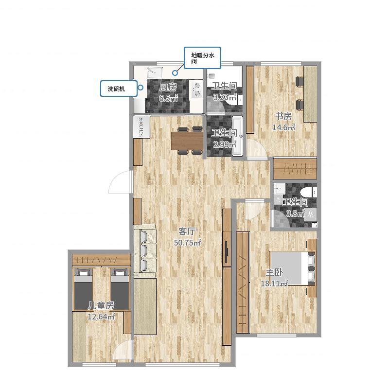 新房-副本户型图