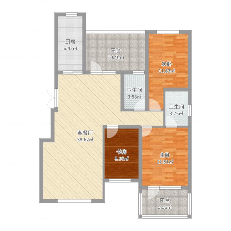 豪邦缇香公馆-副本户型图
