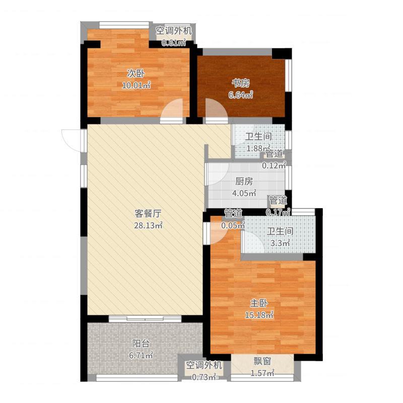 常州_招商花园城_2017-06-28-1055户型图